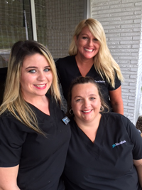 Dental Assistants: Allison, Marie, & Aubrey
